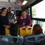 Campaña de concientización en el transporte