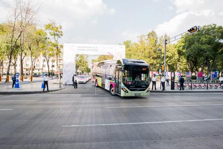 Cumbre C40 con enfoque al transporte