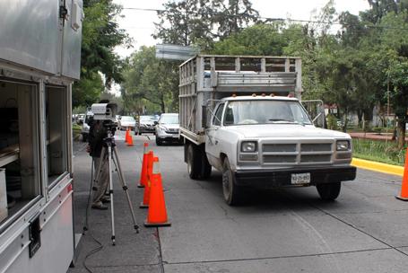 Operativo para detectar vehículos contaminantes