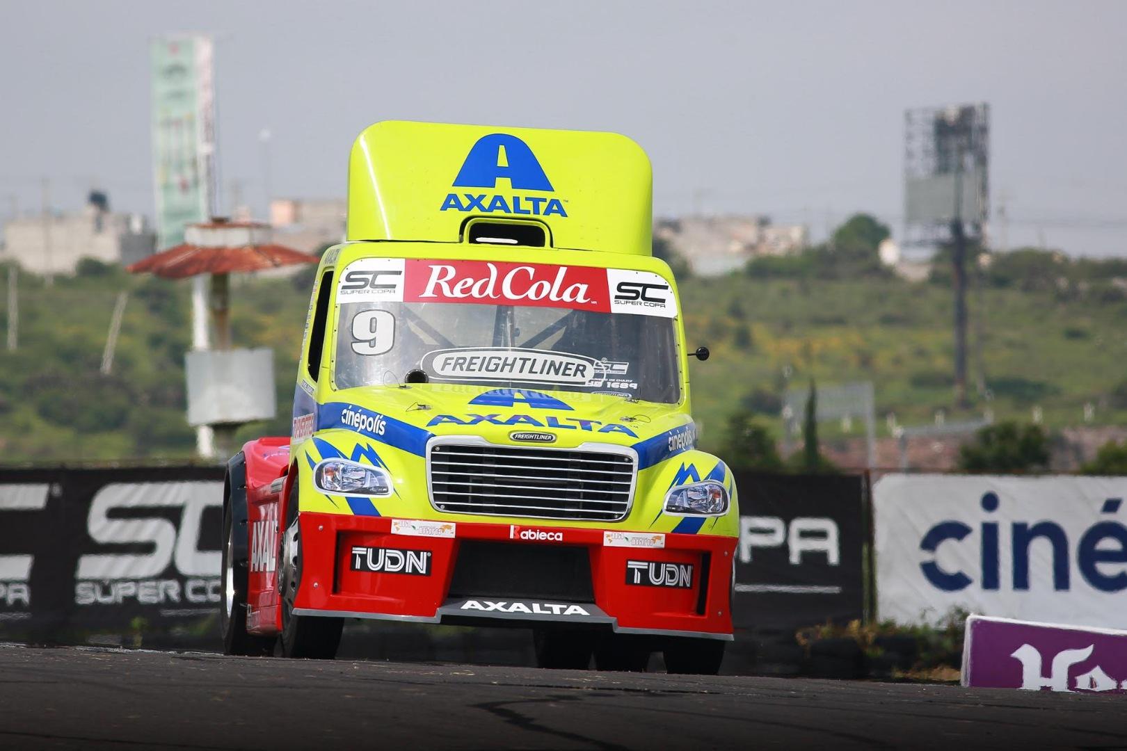 Súper Copa Freightliner Michel Jourdain