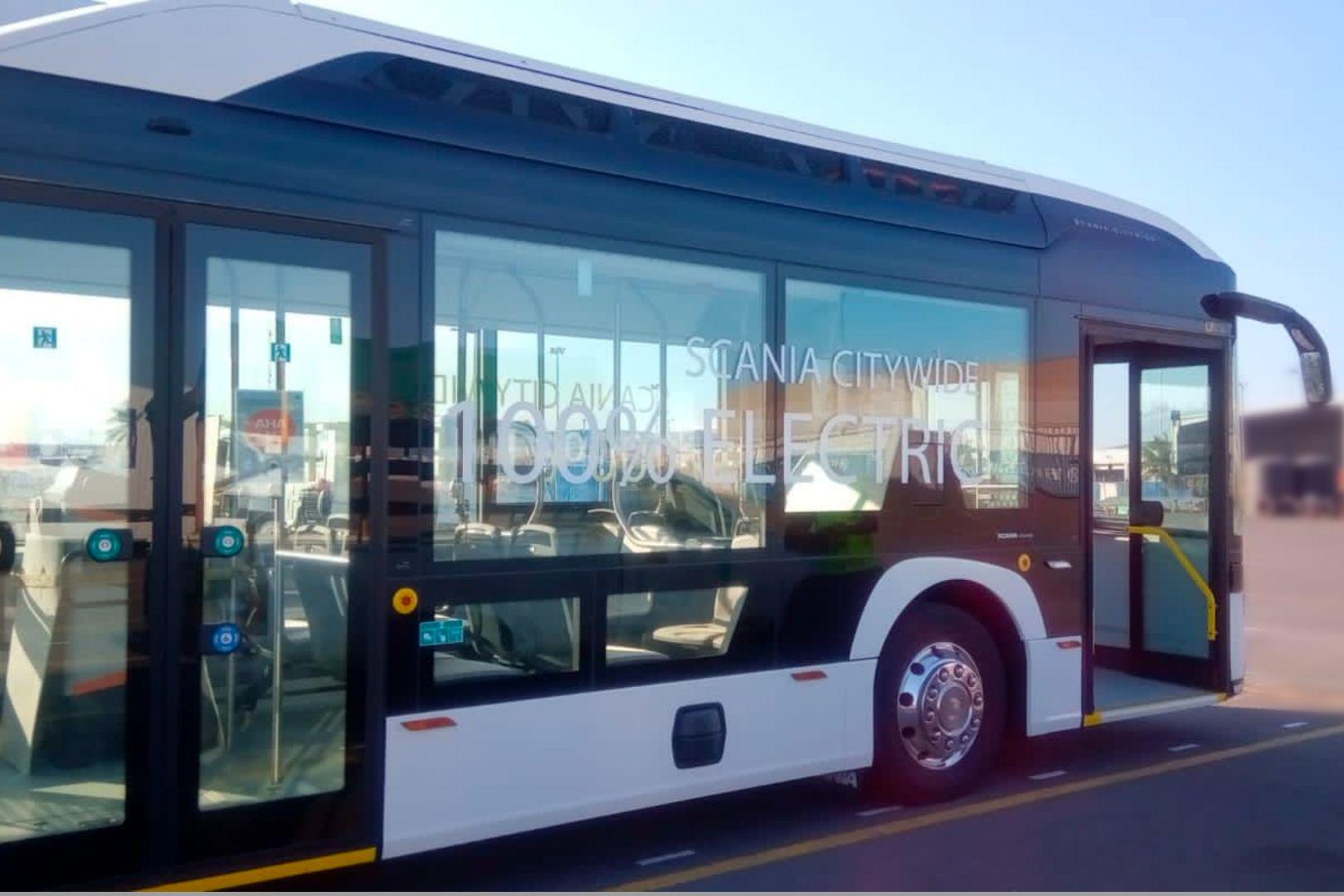 Scania Citywide Eléctrico CDMX