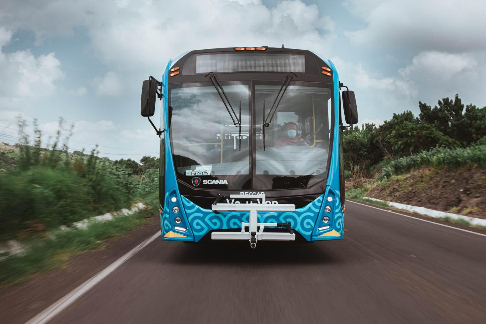 Scania, Mobility ADO, Merida, Beccar Urviabus,