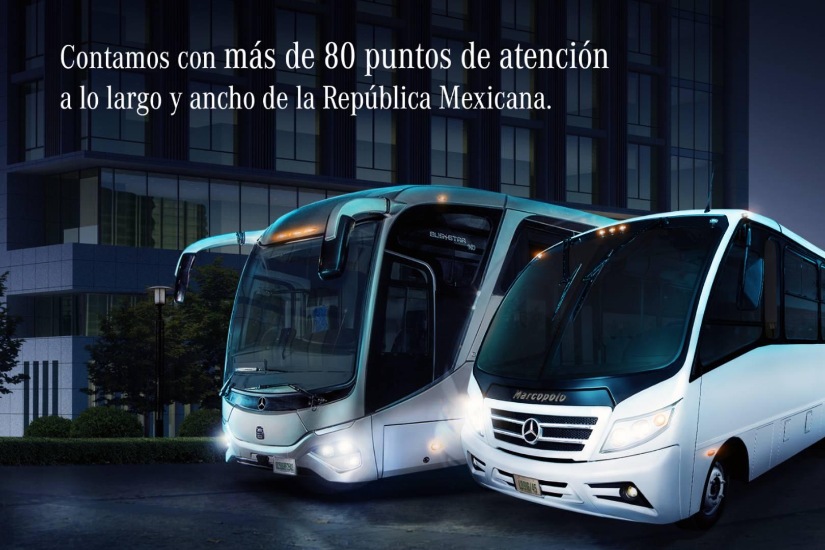 Mercedes-Benz Autobuses, Postventa, Refacciones,