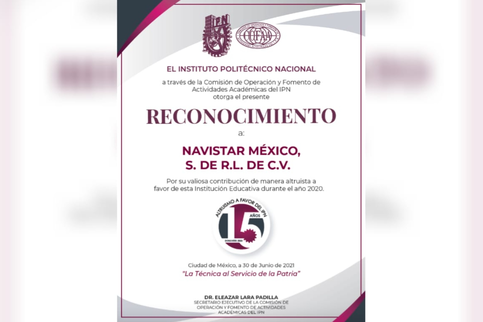 Navistar IPN Donativo ProStar