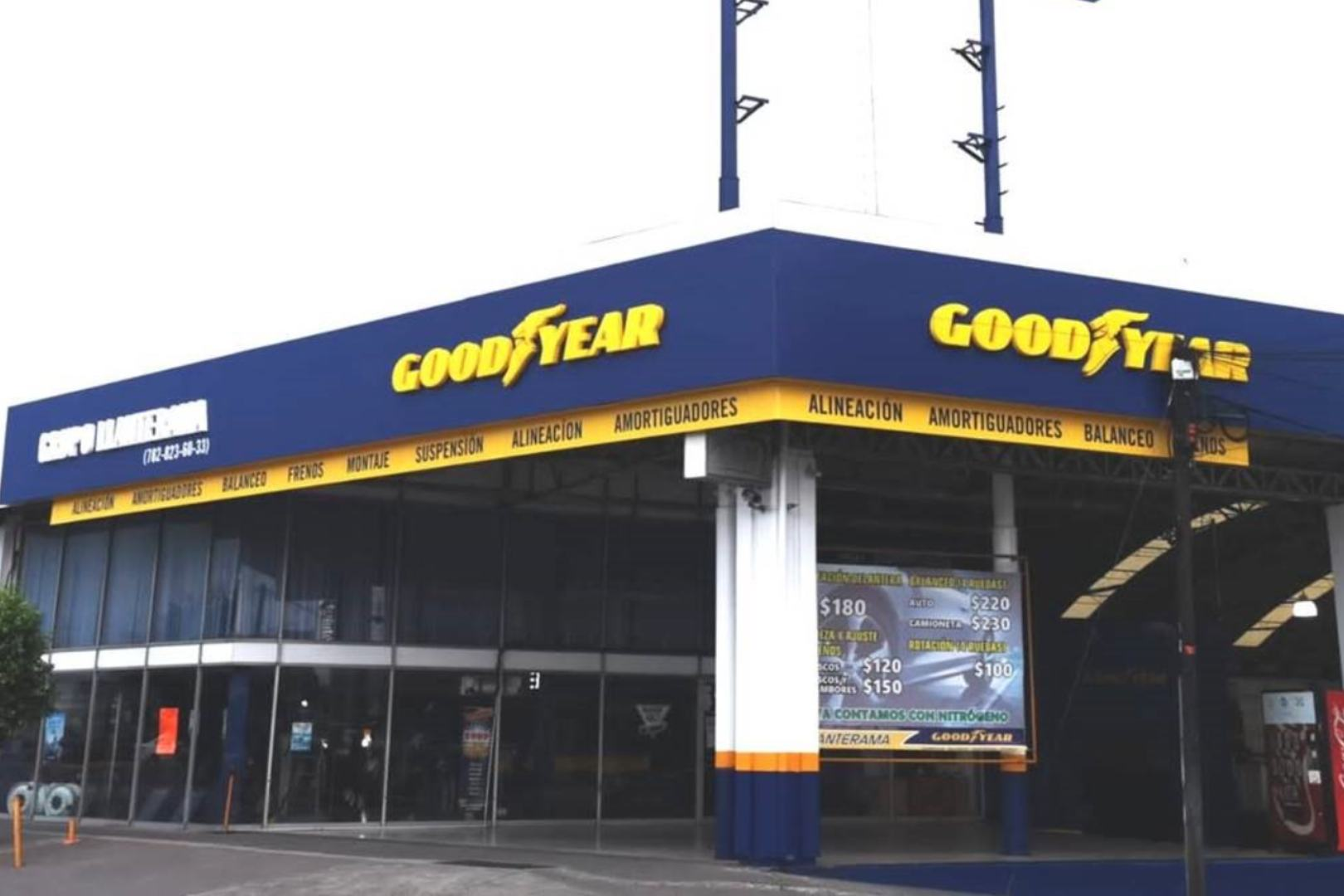 Goodyear, Llanteras, Andellac, Neumáticos,