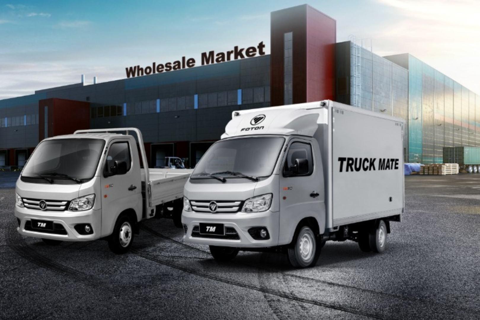 Truck Mate (TM), Foton México, Logística, Reparto, Ligeros