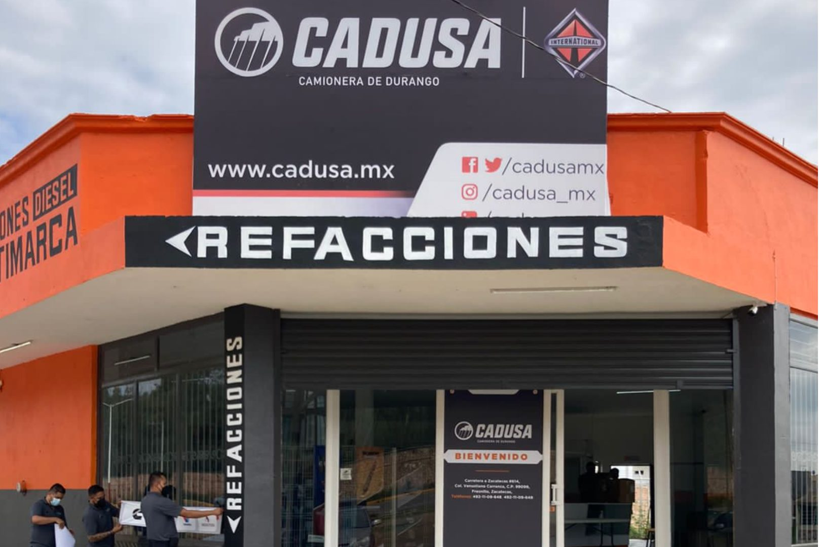 CADUSA Zacatecas Navistar International