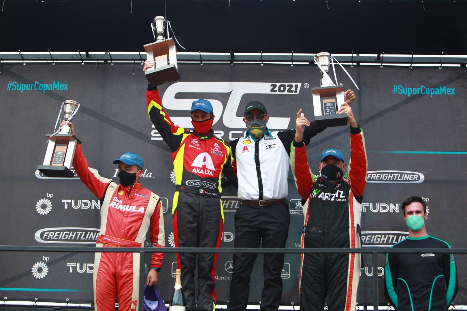 Michel Jourdain Jr. de Axalta-Freightliner Super Copa