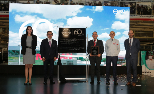 Nissan Aguascalientes 60 años