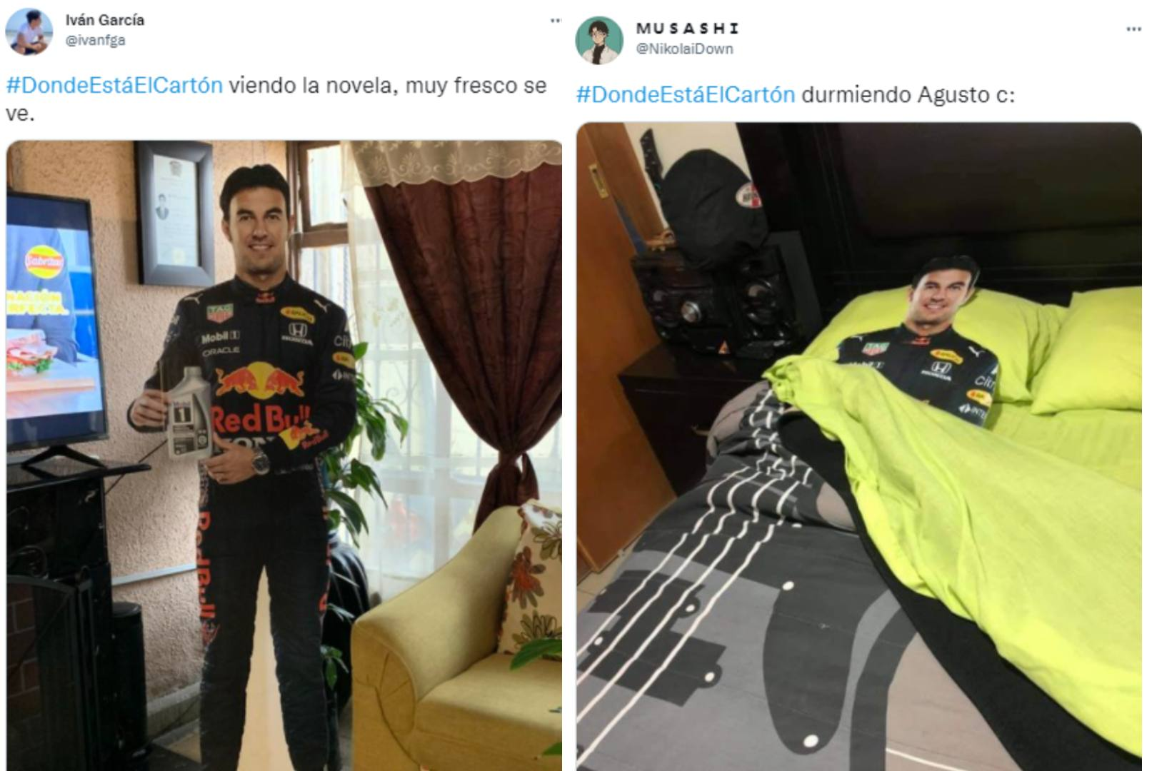 """Sergio """"Checo"""" Pérez Mobil"""