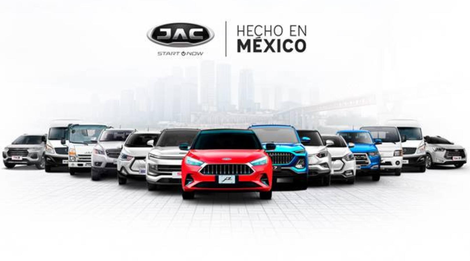 """""""Hecho en México"""" JAC"""