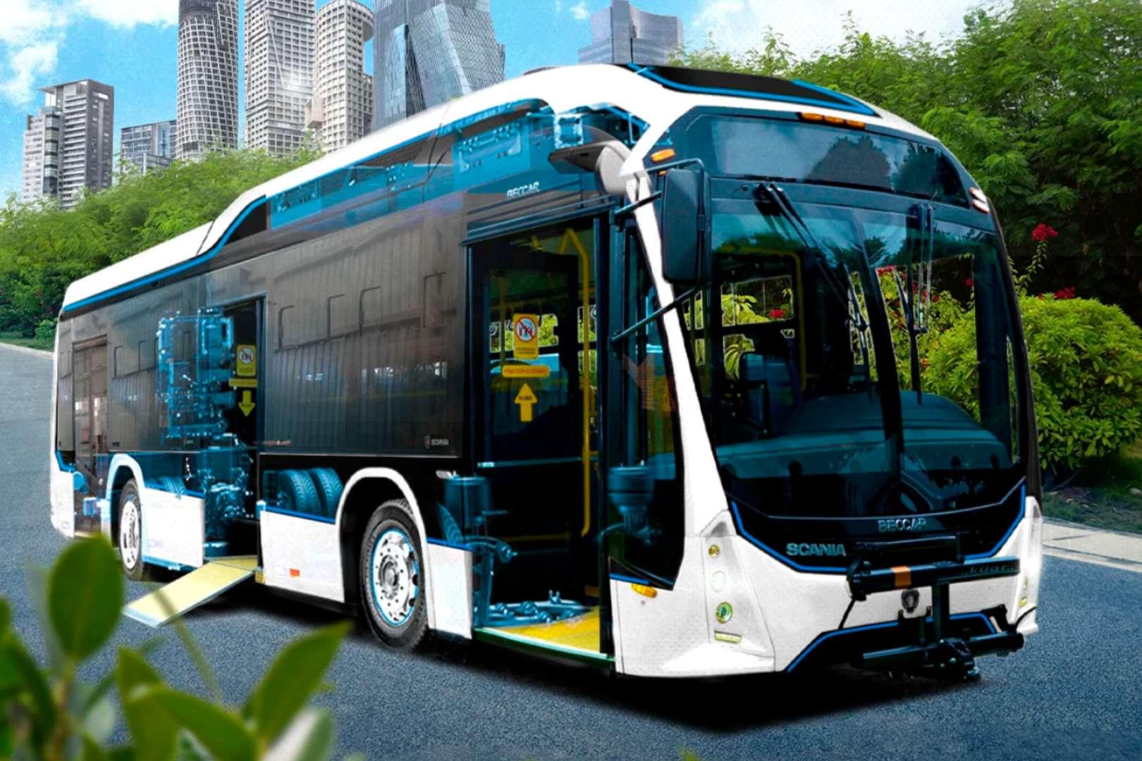 Scania Volt E-Urviabús