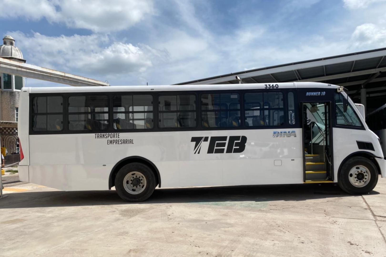 Transporte Empresarial del Bajío (TEB), DINA, RUNNER 10