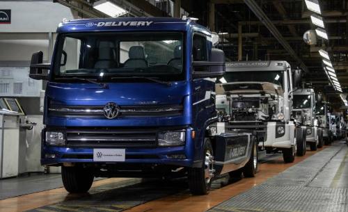 Volkswagen Caminhões e Ônibus e-Delivery