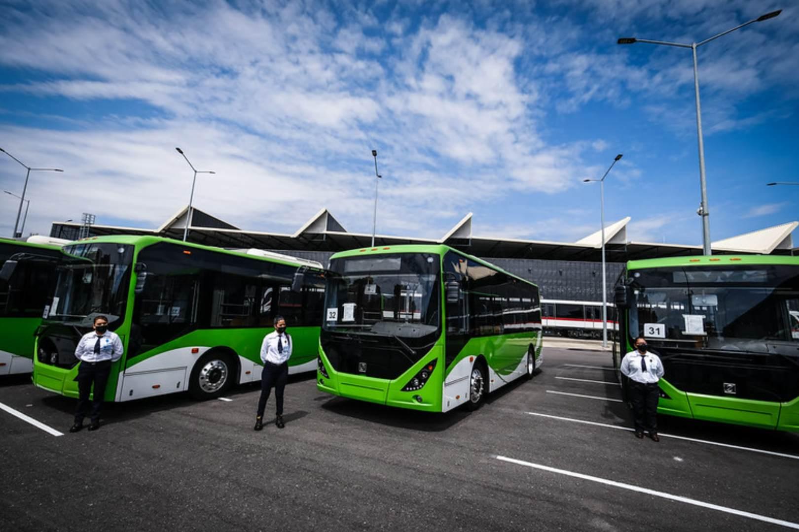 Jalisco Eléctricos Autobuses Mi Transporte