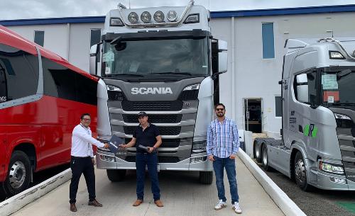 Fruehauf, Scania, Transportes Ruiz