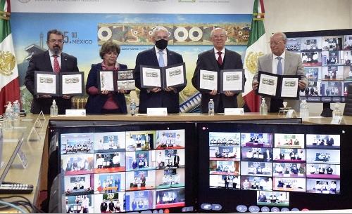 SCT Estampilla 130 Aniversario de la SCT