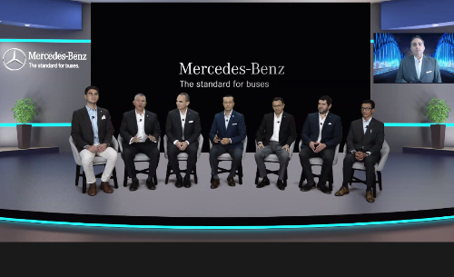 """Mercedes-Benz Autobuses, Expo Virtual, """"Leading The Road"""""""