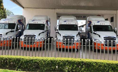 Daimler Freightliner Cascadia Servitec Logistic
