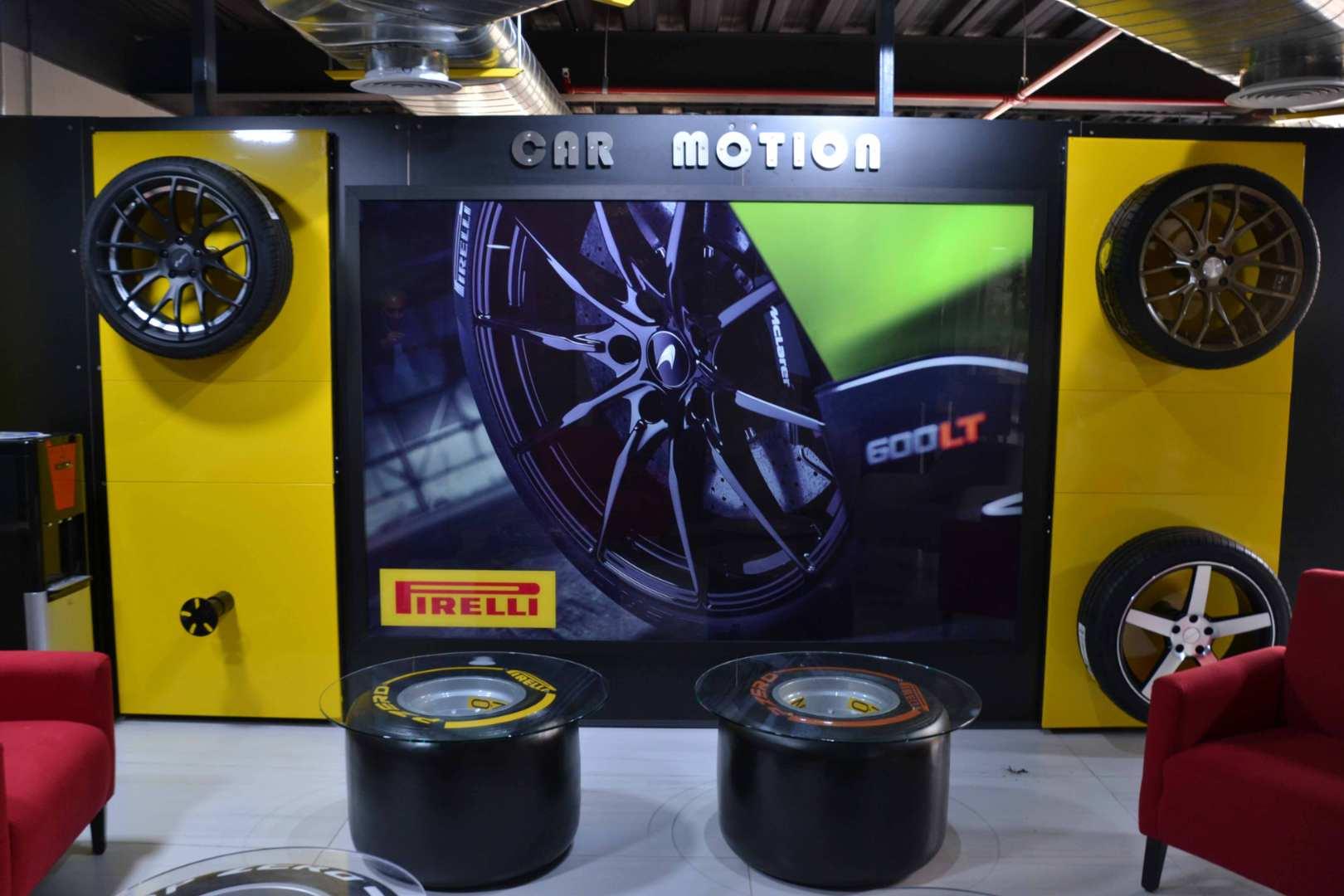 Pirelli y Car Motion