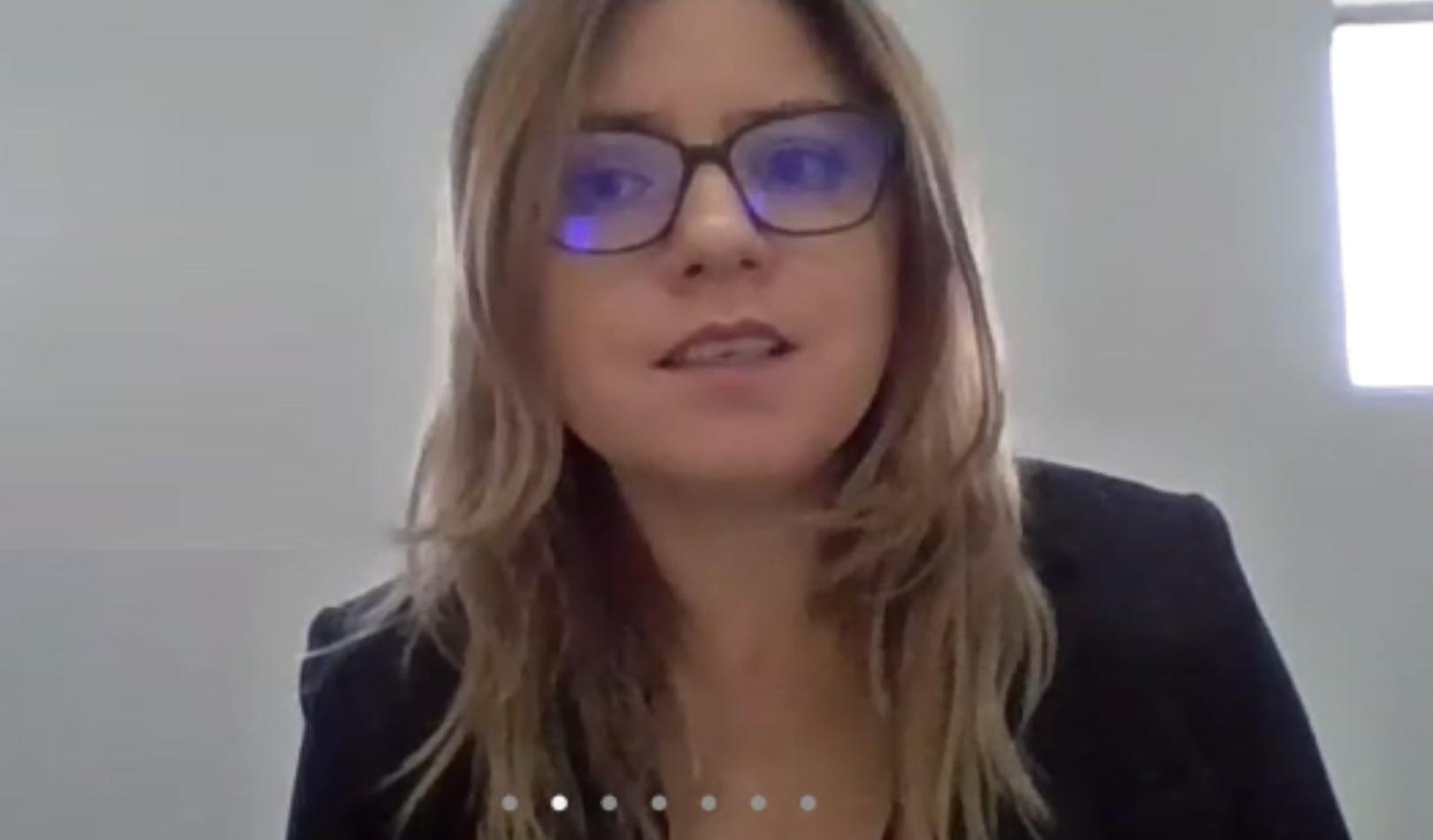 Conductor Grupo Innovazione Irma Herrera