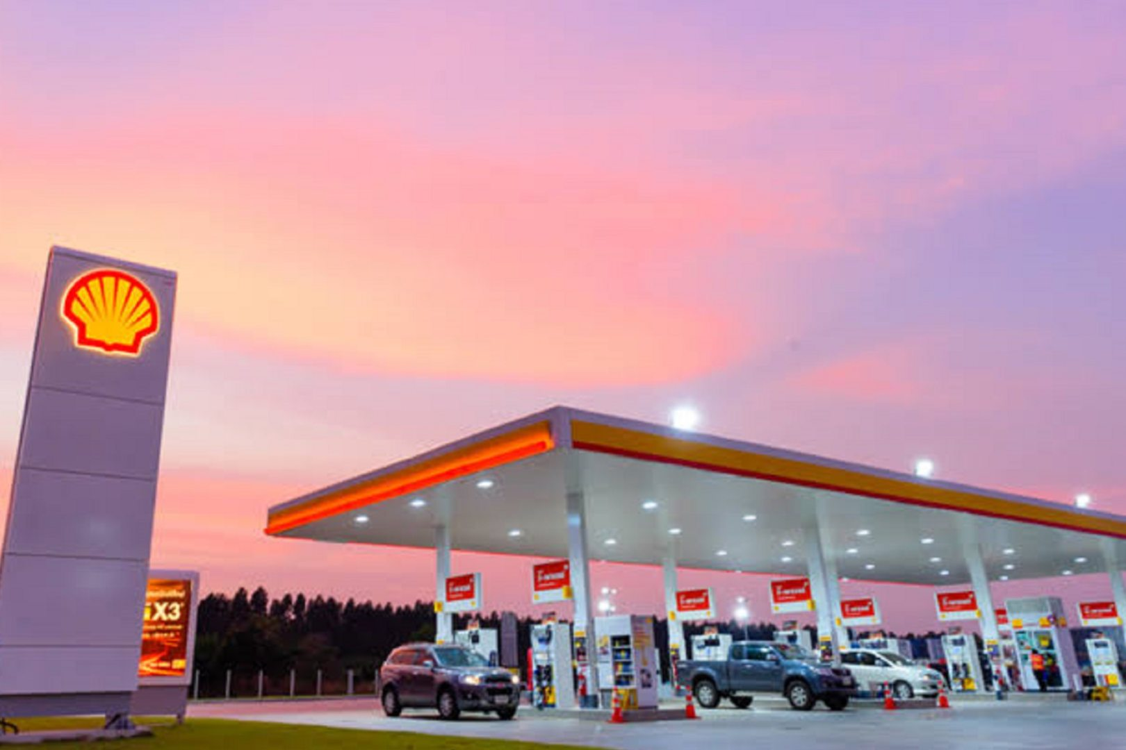 Shell Estaciones Gasolinas Diésel